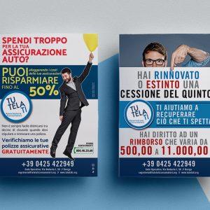 TutelaTi Associazione Consumatori | Flyer A4 | Via Umberto I, 50 | Rovigo