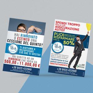 TutelaTi Associazione Consumatori | Flyer A5 | Via Umberto I, 50 | Rovigo