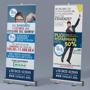 TutelaTi Associazione Consumatori | Rollup 80x200 cm